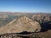 View northwesterly from Sunshine Peak