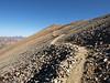 Heading pack to Sunshine Peak