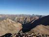 Wetterhorn and Uncompahgre Peaks in the distance as seen from Sunshine Peak.