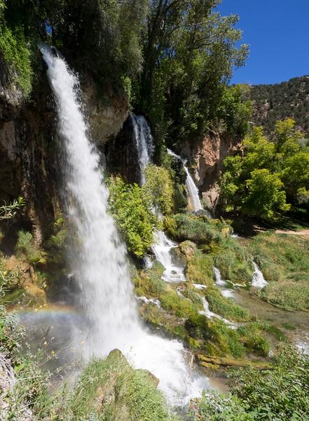 Rifle Falls and Limestone Caves, Colorado