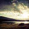 Sunset over Echo Lake, near Mt. Evans, Colorado