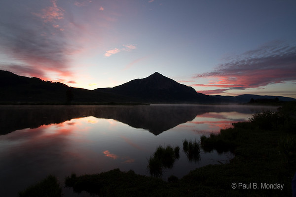 First light over Mt. Crested Butte