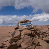 Pike's Peak Colorado Springs : Pike's Peak was my first 14er and it is a long, tough haul.  Revelations early in the trek followed by companionship and finally achievement.  What a beautiful way to start a hobby.
