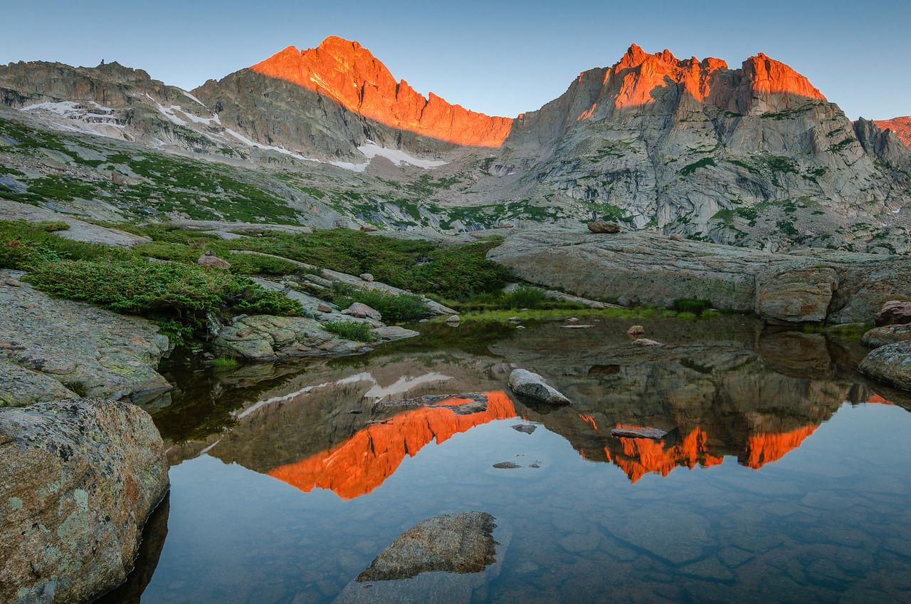 Dawn Above Black Lake