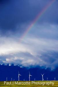 Rainbow turbines