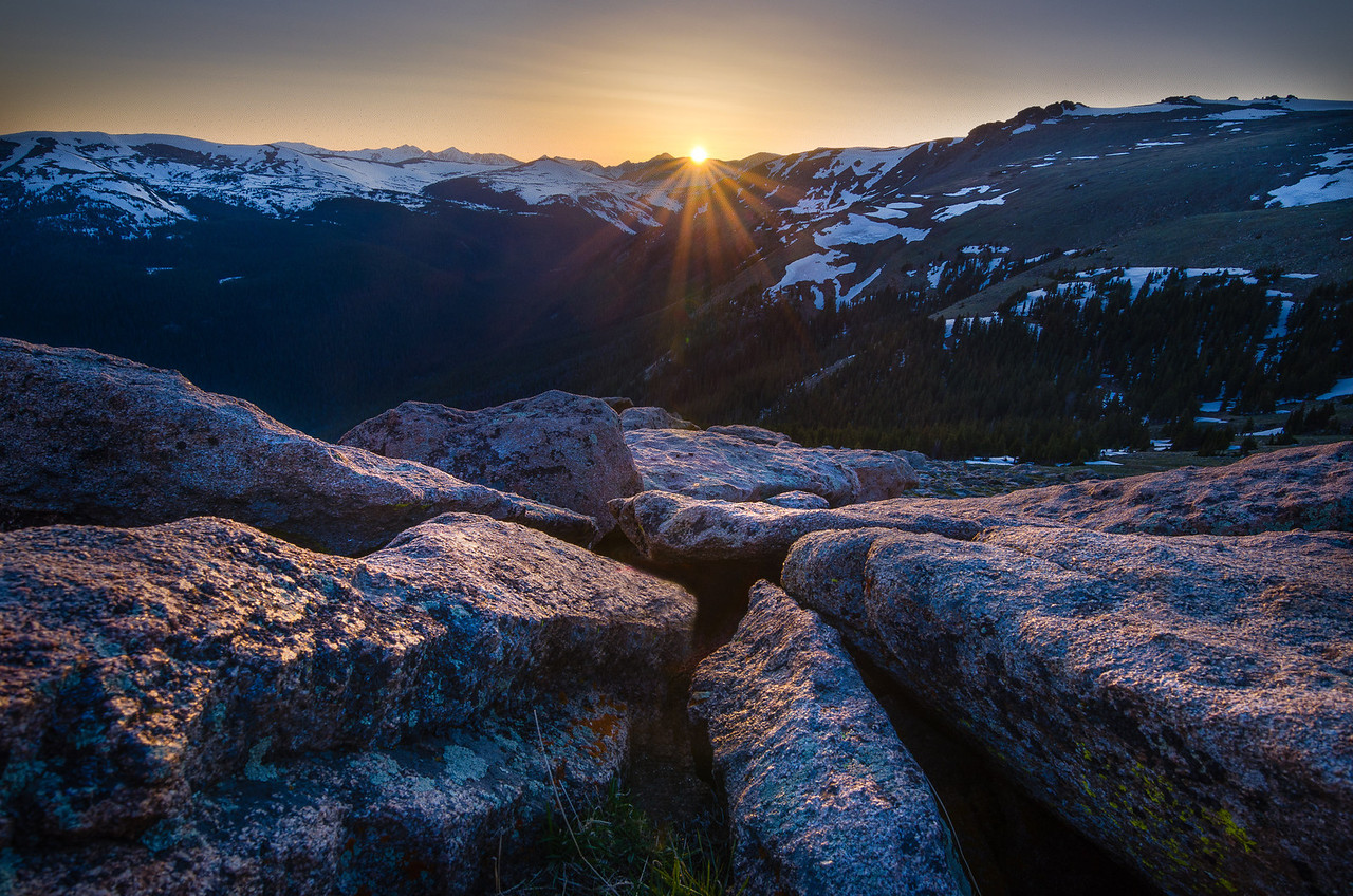 Alpine Sundown