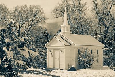 Little Chapel in Snow