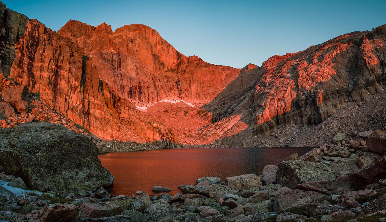 Longs Peak Awakens