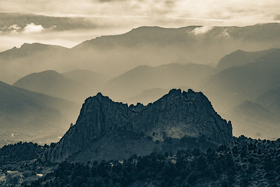 Craggy Rocks and Mountains
