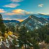 North Cheyenne Canyon Sunset