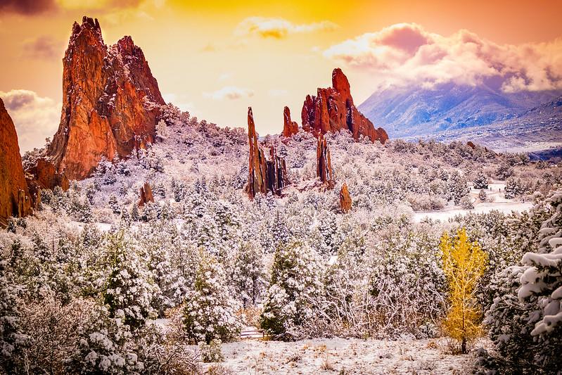 Colorado Landscapes Rustic Colorado