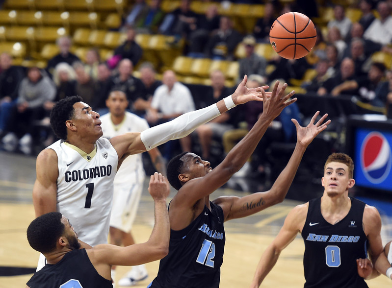 San Diego at Colorado MBB