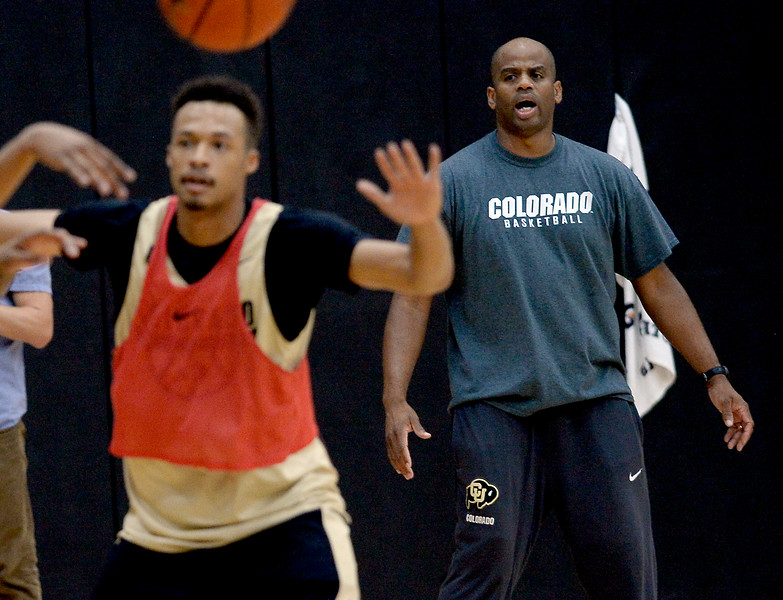CU Men Basketball Practice