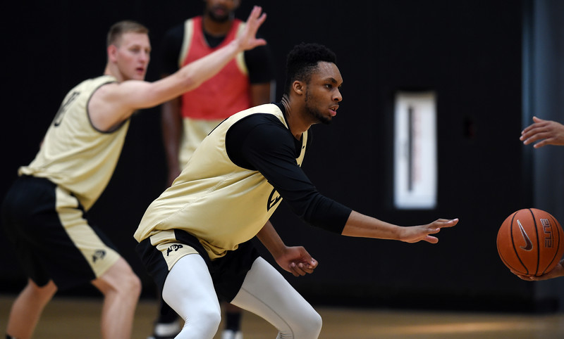 CU Men Basketball Practice