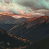 Independence Pass Fall Sunrise