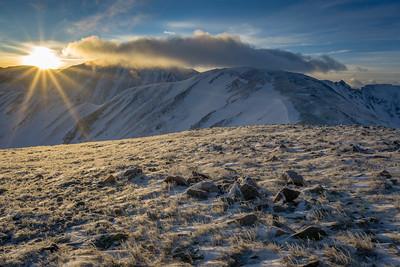 Sunrise Above Loveland Pass