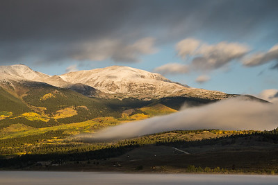 Fog on Mount Elbert - Colorado