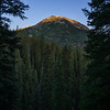 First Light in Colorado Mountains