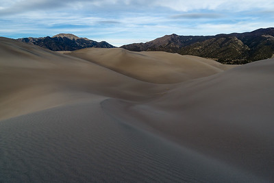 Untouched Sand Dunes in Colorado