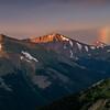 Sunrise Rainbow In Colorado Mountains