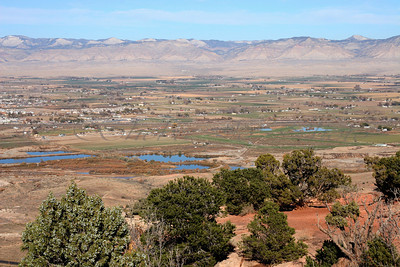 View of the Grand Valley from Colorado National Monument