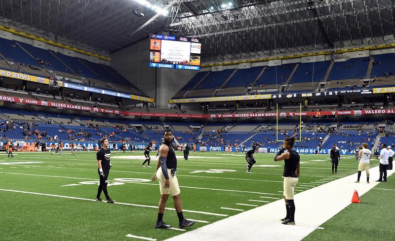 Colorado Oklahoma State Football at Valero Alamo Bowl