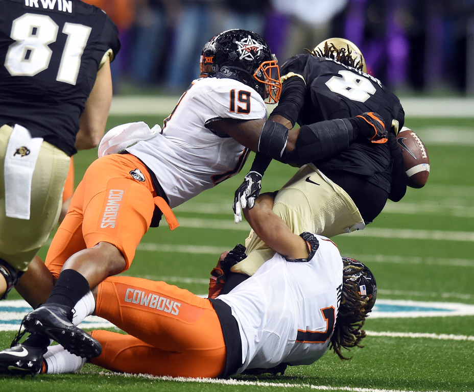 Colorado Oklahoma State Football at Valero Alamo Bowl