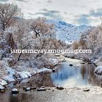 Winter View near Waterton Canyon