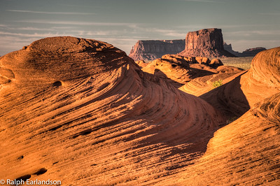 A view of Mystery Valley near Monument Valley.