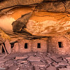The Fallen Ceiling House on Cedar Mesa in southeastern Utah.