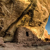 Dwellings at the Ceiling House on Cedar Mesa in southeastern Utah.