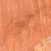 Petroglyphs in Capitol Reef National Park, Utah.
