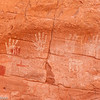 Handprints near Monument Valley.