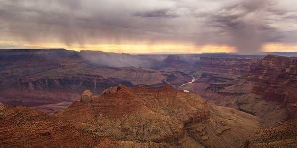 Monsoon Sunset, Navajo Point