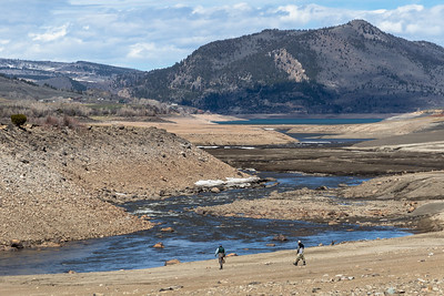 Anglers along the Blue River and Green Mountain Reservoir in Colorado on April 26, 2019. Photo by Mitch Tobin/The Water Desk