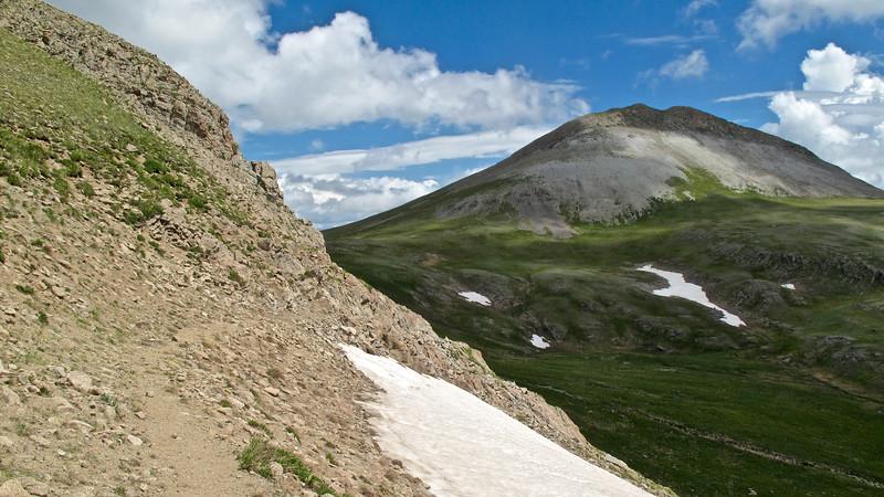 "Montezuma Peak on my way down ""The Unicorn."""