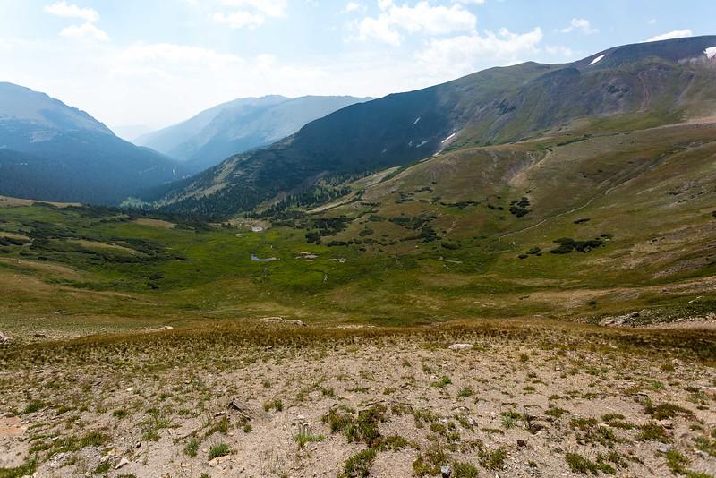 At Trail Ridge Road, 12000 feet