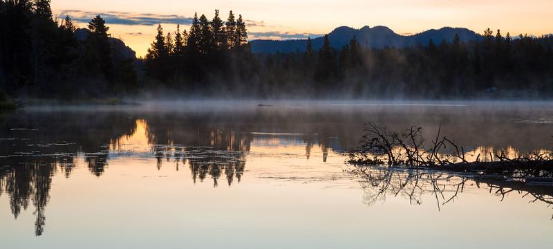 Early morning, Sprague Lake