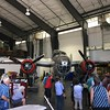 At the Warbirds museum at Colorado Springs airport, next door in the private restoration company, a B25 Mitchell bomber
