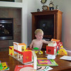 Hours of play with 35-year old Fisher-Price town, originally Jen's
