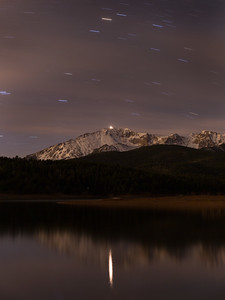 1:30 AM,  Crystal Creek Reservoir, Pikes Peak.