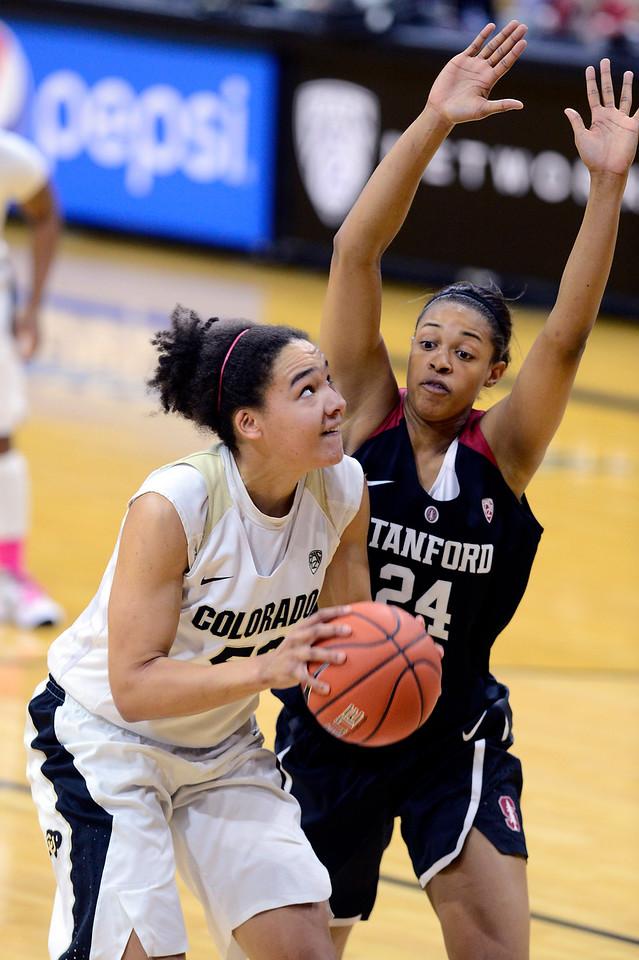 Colorado Stanford NCAA Womens' Basketball  CU Stanford Women222C