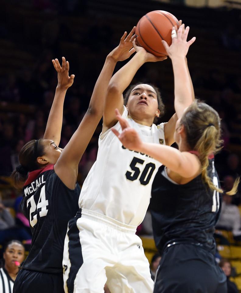 Colorado Stanford NCAA Womens' Basketball  CU Stanford Women131C