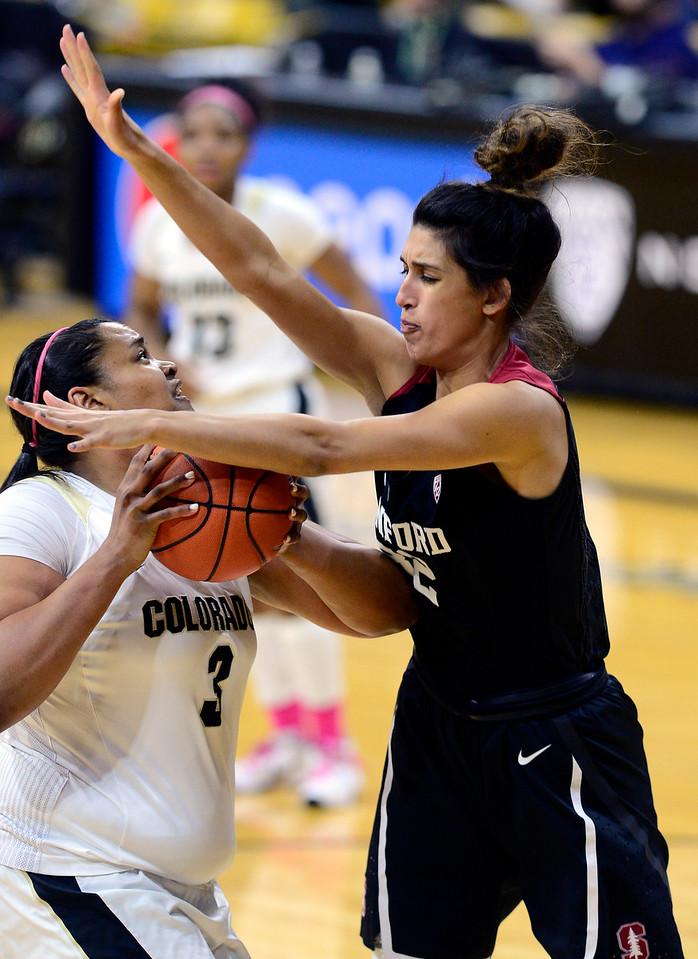 Colorado Stanford NCAA Womens' Basketball  CU Stanford Women218C