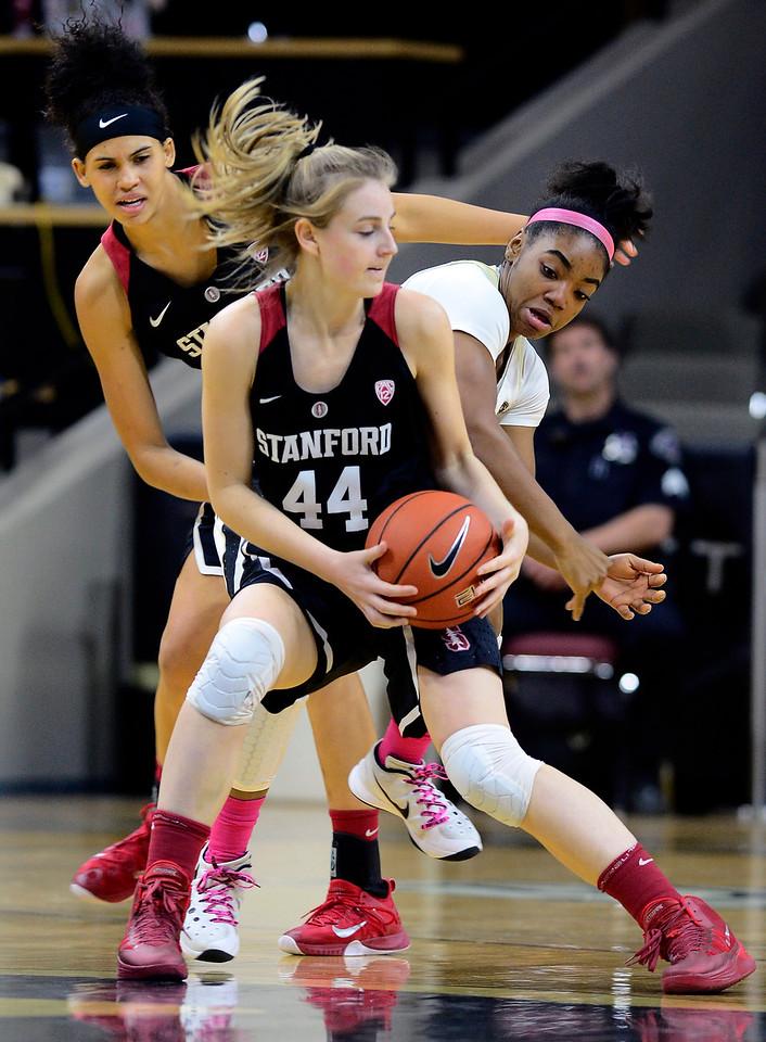 Colorado Stanford NCAA Womens' Basketball  CU Stanford Women49CU
