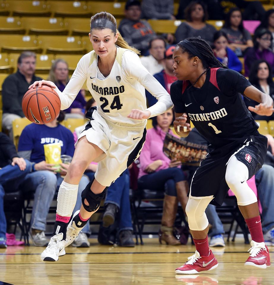 Colorado Stanford NCAA Womens' Basketball  CU Stanford Women94CU