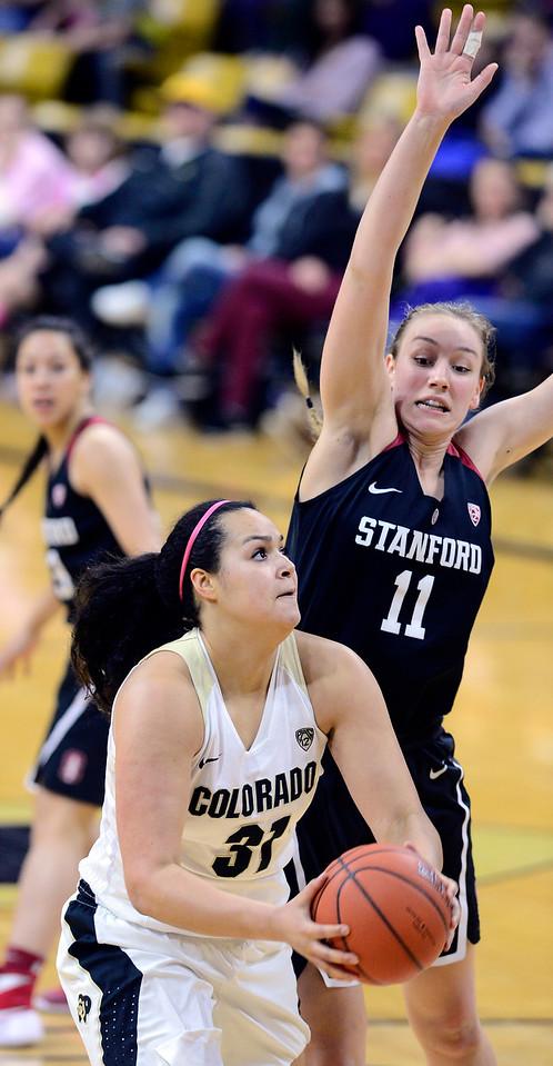 Colorado Stanford NCAA Womens' Basketball  CU Stanford Women234C