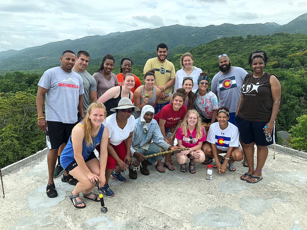 . The CSU Green and Global group spent nine days in rural Jamaica, and also visited a resort area, giving them a chance to compare the differences. (CSU Green and Global)