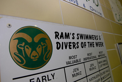 Colorado State University Swimming and Diving
