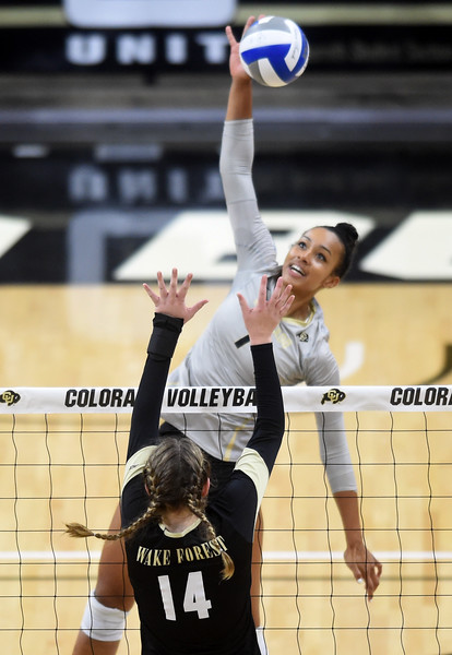 Colorado and Wake Forest Volleyball